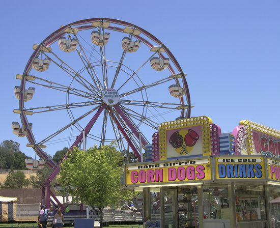 Placerville, Californien: El Dorado County Fair