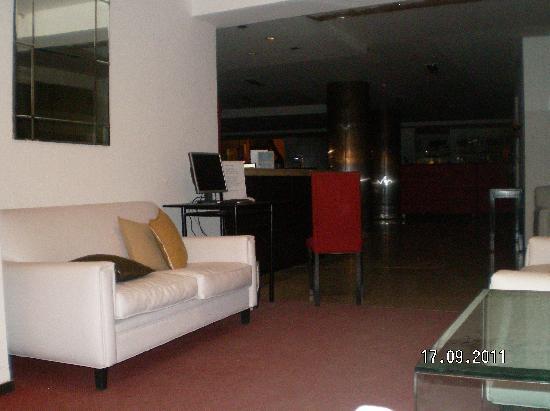 Los Sauces Hotel & Spa: sala de recepción