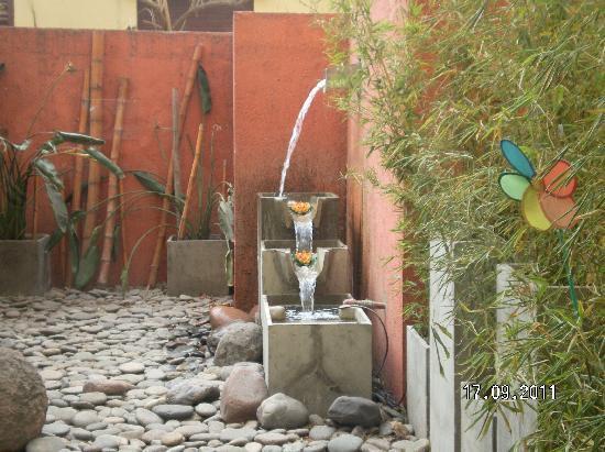 Los Sauces Hotel & Spa: Jardin interno