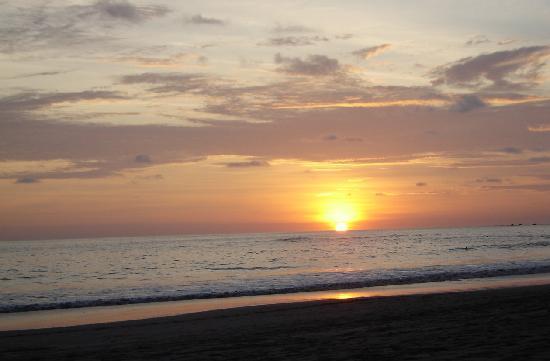 Playa Manuel Antonio: Puesta de sol en Manuel Antonio