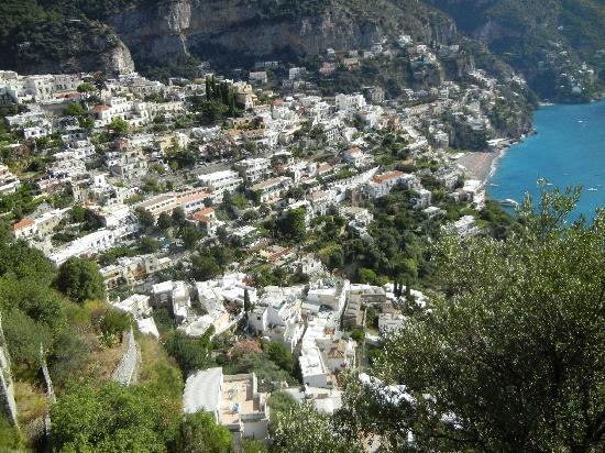 Positano, Italië: The City on a hillside