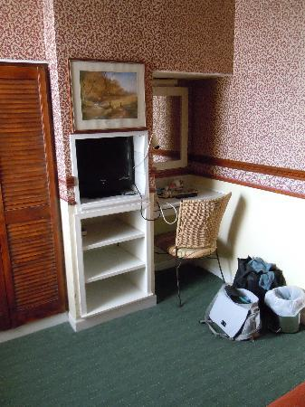 Penrhys Hotel : Tea/coffee facilitites and TV