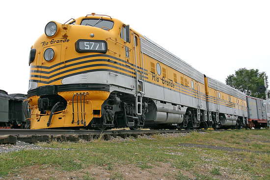 Colorado Railroad Museum: Diesels that powered the famous California Zypher