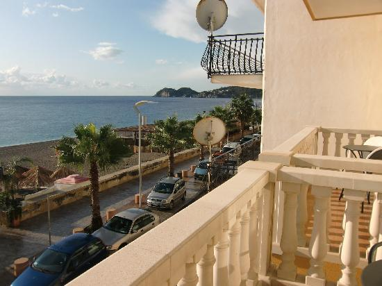 Hotel San Vincenzo: Blick Richtung Taormina von Zi 203