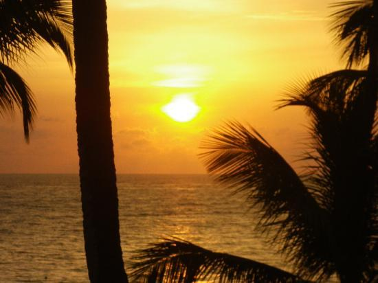 Caribe Club Princess Beach Resort & Spa: gorgeous sunrise over the ocean