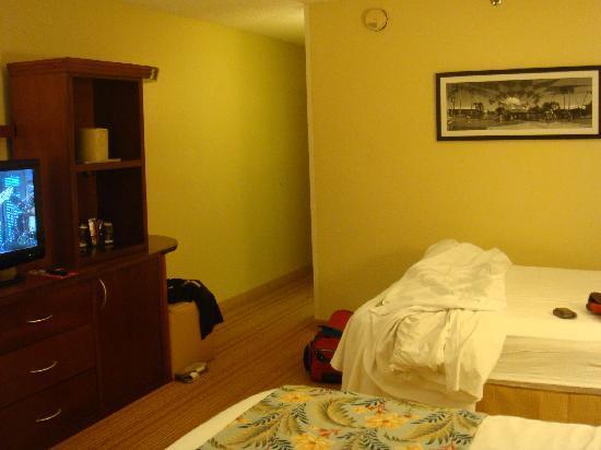 Courtyard by Marriott Orlando Lake Buena Vista at Vista Centre: Bedroom