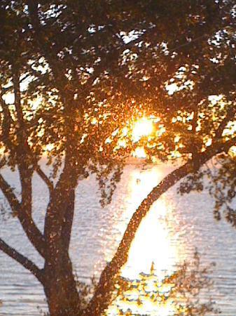 Atlantis Hotel am Meer: Sonnenaufgang
