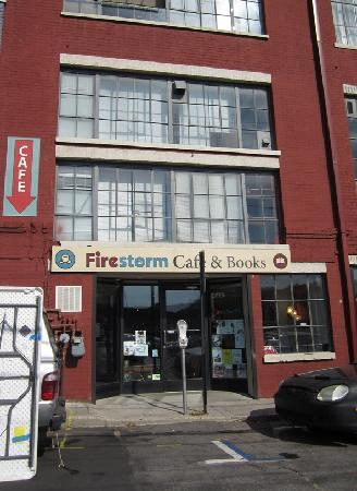 Firestorm Books & Coffee: The outside
