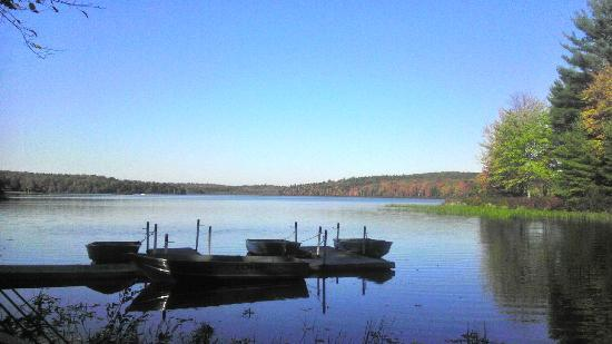Inn at Lake Joseph : Lake at St Josephs