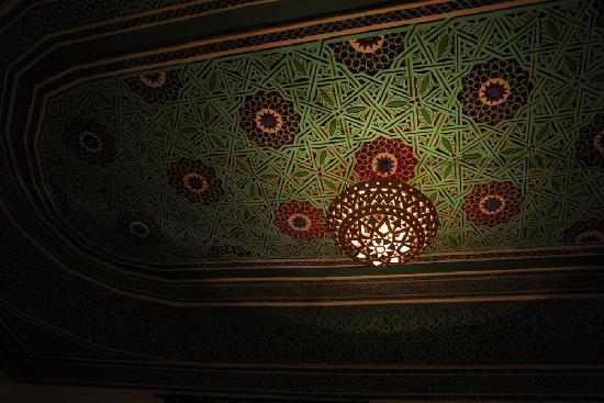 Riad Hidden : That amazing ceiling
