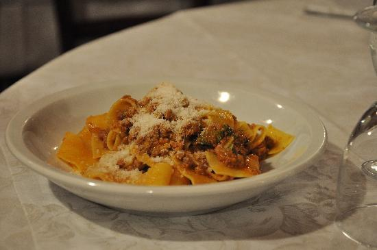 Ristorante Logli: noodle with duck sauce