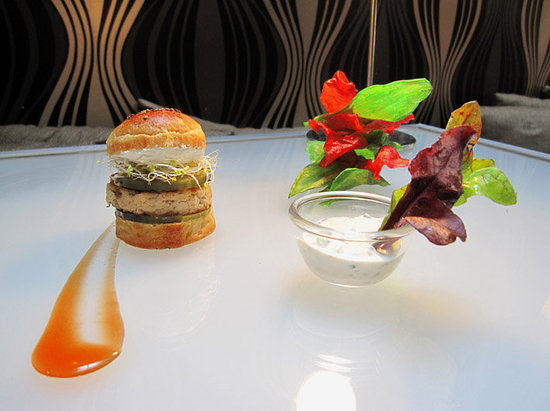 Monjul : Burger tikka Massala