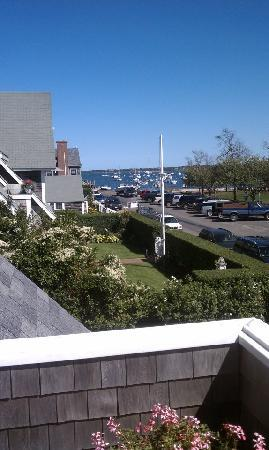 Safe Harbor Guest House: view from the deck