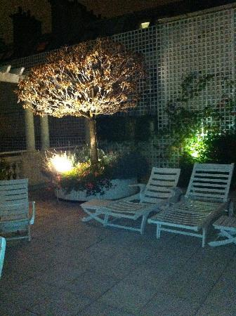 Le Bristol Paris: our terrace