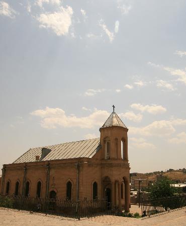 Hamadan, Irán: an old building