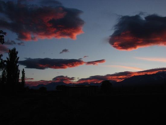 Barreal, Argentine : Atardeceres