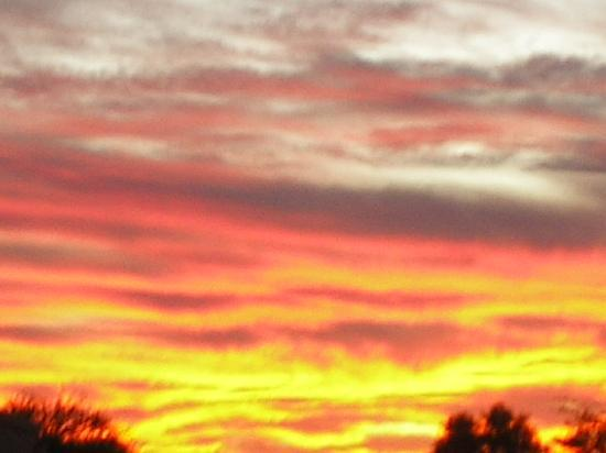 Inn at Civano : Our Famous Tucson Sunset