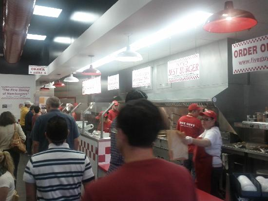 Five Guys San Diego 8650 Genesee Ave Restaurant