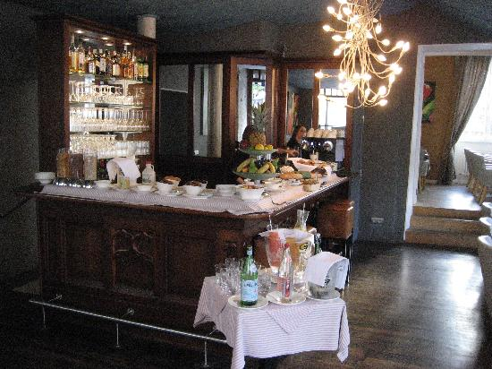 Parc Beaux-Arts Hotel Luxembourg: Breakfast Room
