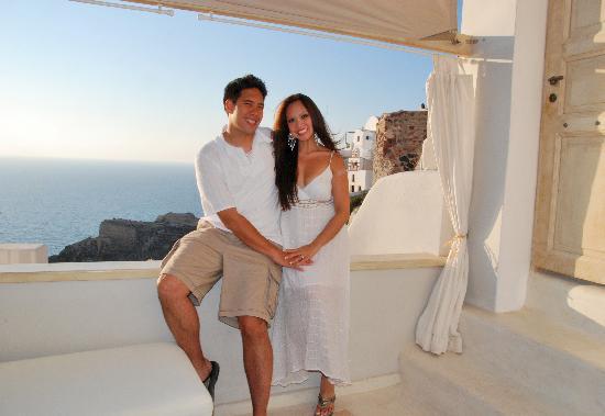Art Maisons Luxury Santorini Hotels Aspaki & Oia Castle: Beautiful View