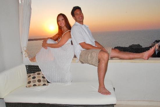 Art Maisons Luxury Santorini Hotels Aspaki & Oia Castle: Best View of the Famous Oia Sunset