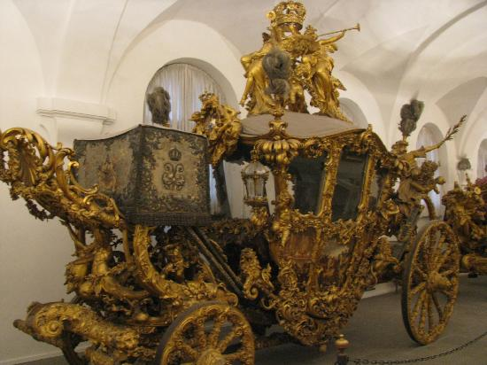 Nymphenburg Palace: Marstallmuseum, coaches for royalty on display