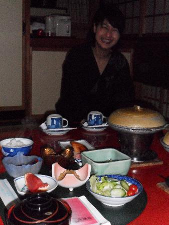 Senshinkan Matsuya: The wonderful dinner and the lady who was taking care of us so well