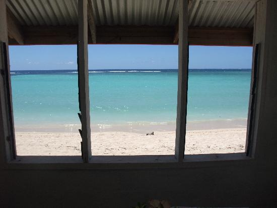 Tailua Beach Fales: View from Dining Fale