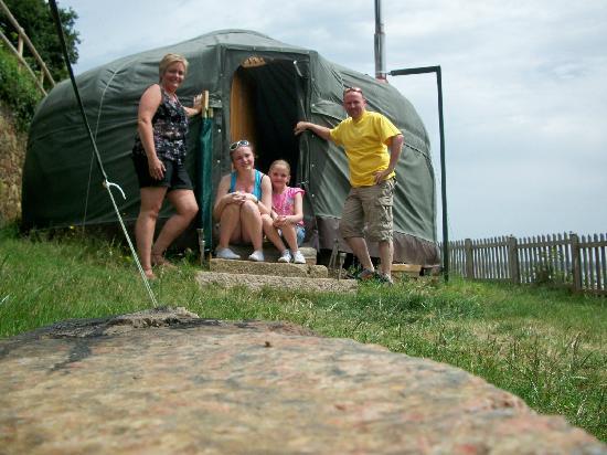 Jersey Yurt Holidays: McMulkin Family @ ShipAhoy