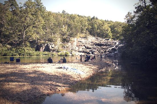 Rocky Falls Shut-in: chillaxin'
