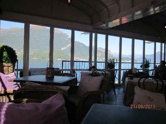 Hotel Villa Aurora: View from the Restaurant