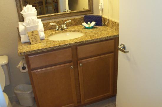 Coconut Palms Beach Resort II: New Bathroom Cabinet and Countertop