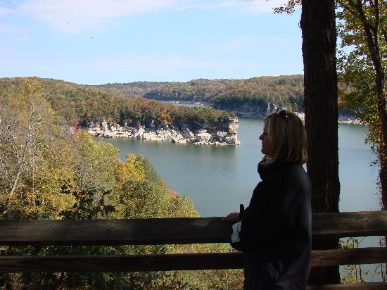 Sleep Inn: Over look at the gorgeous Summersville Lake