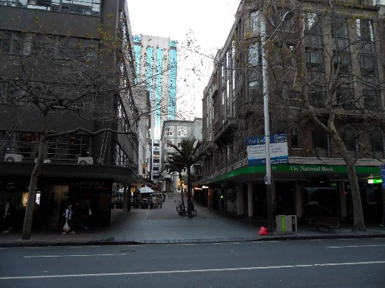 Vulcan Lane from across the street