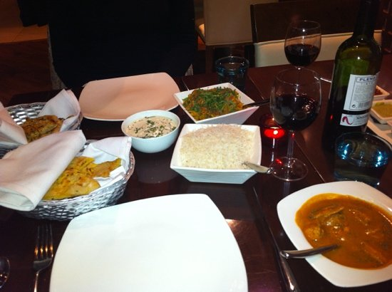 Indali Lounge: the amazing meal