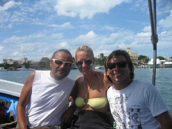 Cancun Diving College : JOSE Y SVENJA