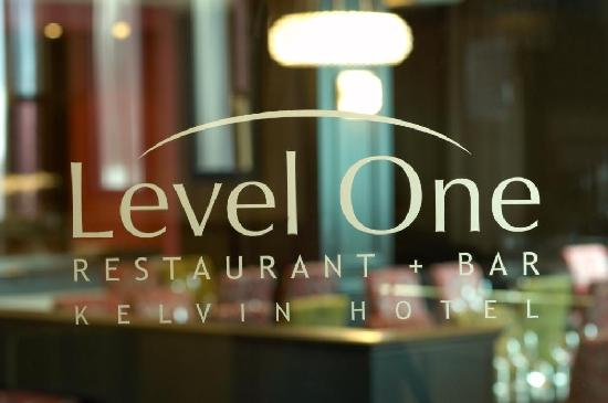 Kelvin Hotel: Level One Restauratn & Bar