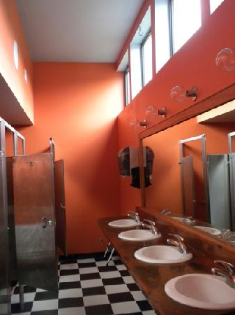 Waitsfield, Вермонт: Amazing washrooms at Big Picture Cafe