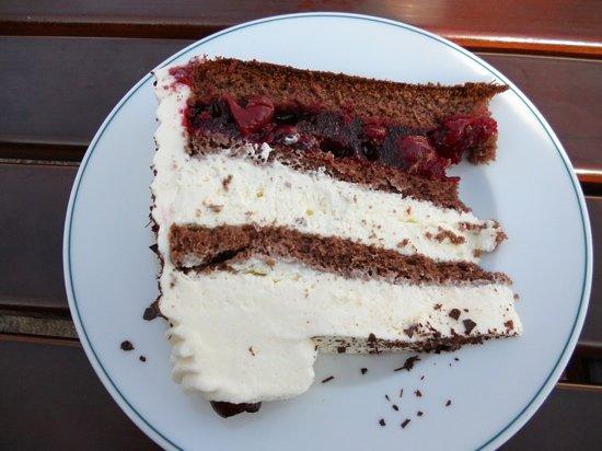 Panera Bread: Black Forest Cake!