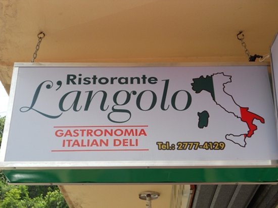 L'Angolo: The Sign You Can't Miss