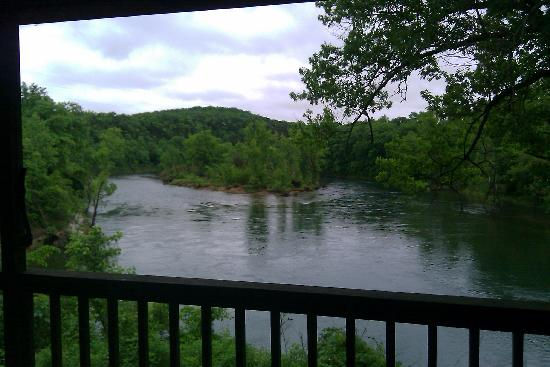 Spider Creek Resort : view from cabin 12