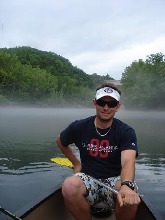 Spider Creek Resort : canoe trip from Spider Creek