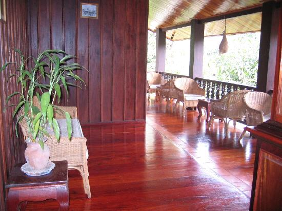Ammata Guest House: Balcony
