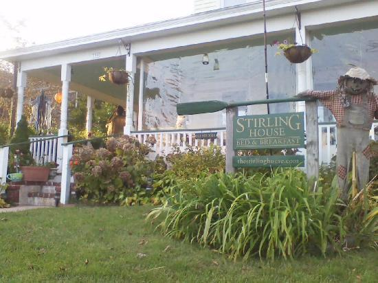 Stirling House Bed and Breakfast : Happy Halloween!