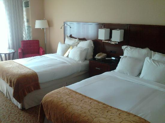 Chattanooga Marriott Downtown: Sleeping Area