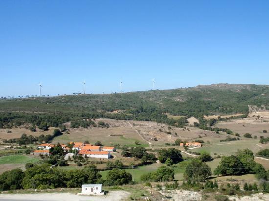 Blick aus dem Zimmer im Hotel Vanguarda