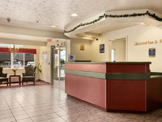 Microtel Inn & Suites by Wyndham Holland: Lobby