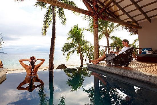Tadrai Island Resort - Deluxe Villa Balcony