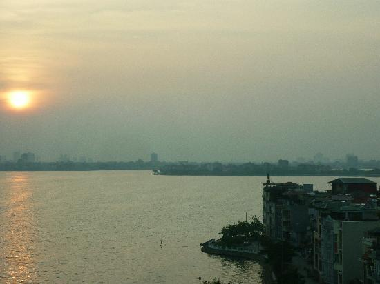 The Hanoi Club Hotel & Lake Palais Residences: View from my room