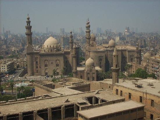 El Cairo, Egipto: panorama dalla Cittadella